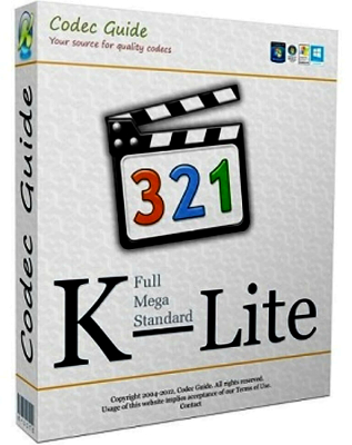 K-Lite Codec Pack 14.9.4 | Basic + Standart + Mega + Full | Tweak Tool v6.3.9 | Update 14.9.2 | MediaInfo Lite 19.04