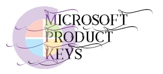 microsoft product keys 2.6.3