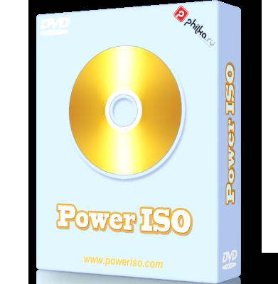 PowerISO 7.4 Rus