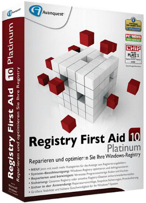 Registry First Aid Platinum 10.1.0 Build 2298 | Portable by KillDozer | Portable by punsh Rus